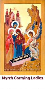 Myrhh-Carrying-Ladies-at-the-Grave-icon