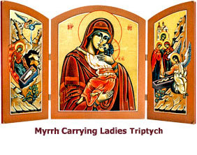 Myrhh-Carrying-Ladies-at-the-Grave-Triptych