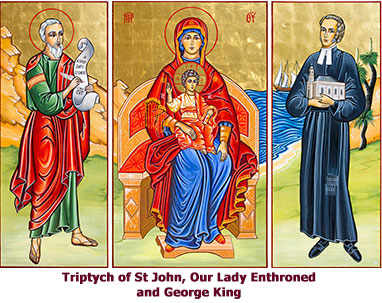 Triptych-of-St-John-Our-Lady and-George-King
