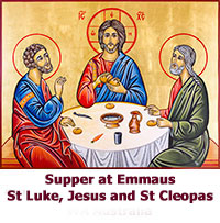 Supper-at-Emmaus-St-Luke-Jesus-and-St-Cleopas-icon