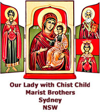 Our-Lady-with-Christ-Child-Coptic-triptych