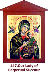 147. Our Lady of Perpetual-Succour-icon