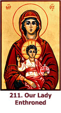 211. Our-Lady-Enthroned-icon