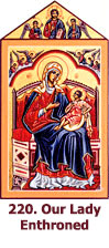 220. Our-Lady-Enthroned, Duccio Madonna-icon