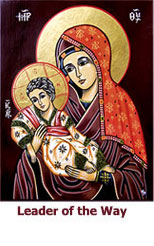Our Lady Leader of the Way icon (Our Lady of Kikotisa)
