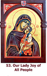 52. Our Lady  Joy of All People icon