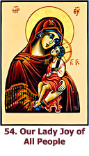54. Our Lady  Joy of All People icon
