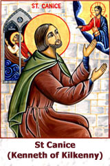 St-Canice-(Kenneth of-Kilkenny)-icon