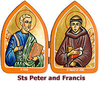 St-Peter-and- St-Francis-icon