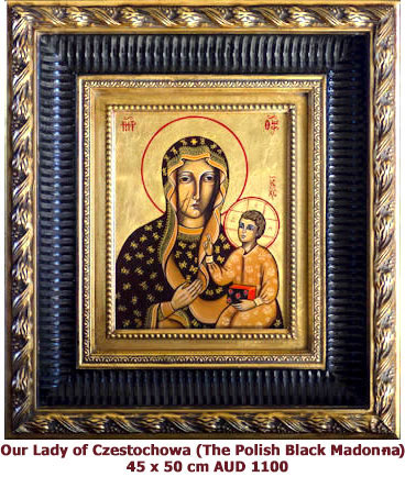 Our Lady of Czestochowa, Polish Black Madonna icon