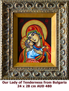 Our-Lady-of-Tenderness--from-Bulgaria-icon