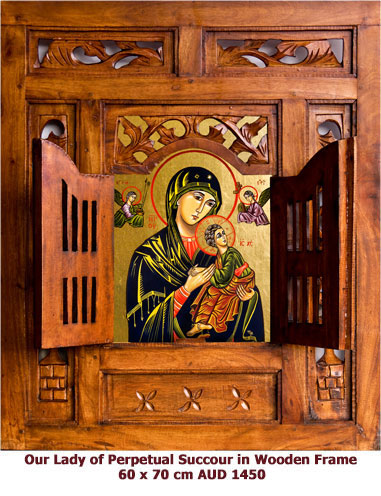 Our Lady of Perpetual Succour (Help) icon