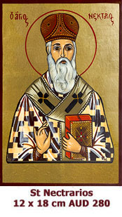 St Nectarios, Metropolitan and Wonderworker of Aegina